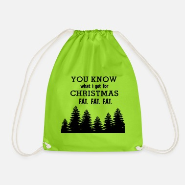 Fat Fat Fat Fat - Drawstring Bag