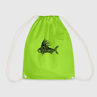 ROOSTER FISH TRIBAL Tattoo Tribals - Gymbag