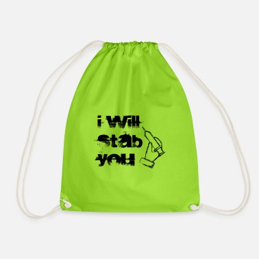 Receptionist Receptionist - Drawstring Bag