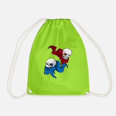 Undertale San/papyrus - Drawstring Bag
