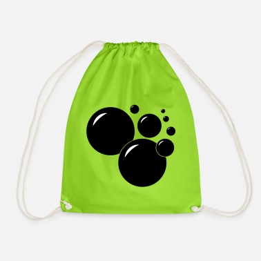 Bubbles cut over - Drawstring Bag