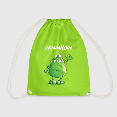 Crazy Frog - Drawstring Bag