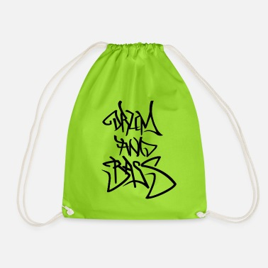 Bass Drum and bass - Drawstring Bag