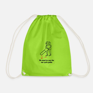 Safer Use CyclePaths Care - Drawstring Bag