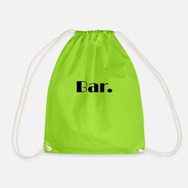 Bar bar - Sac à dos cordon