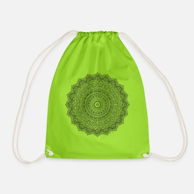 Biodanza Middle Mandala 6 - Drawstring Bag