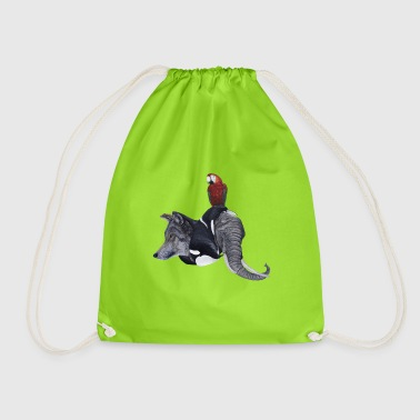 Wildtiere / Wild animals - Drawstring Bag