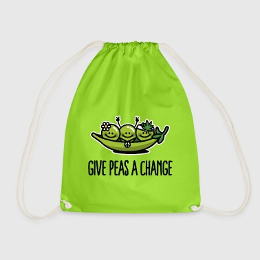 Give peas / peace a change hippies - Jumppakassi