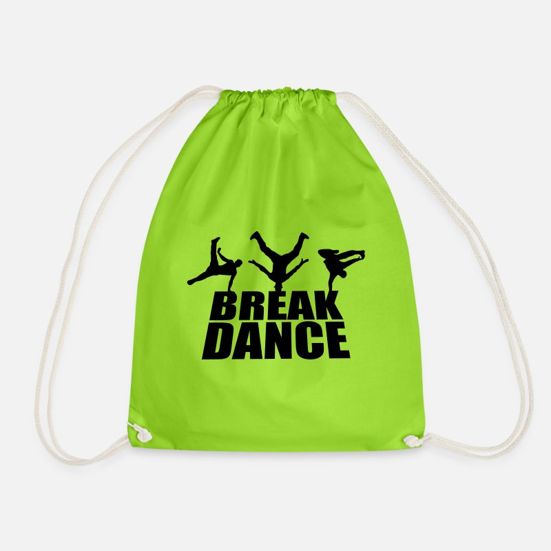 breakdance sac dos cordon spreadshirt. Black Bedroom Furniture Sets. Home Design Ideas
