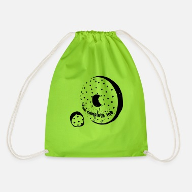 You Complete Me Donut - Drawstring Bag