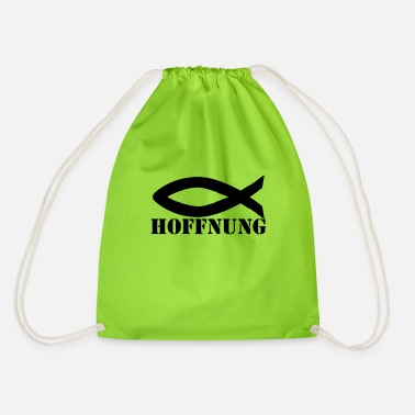 Hope hope - Drawstring Bag