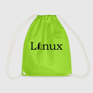 Linux Operating System Gift Idea IT IT Software - Drawstring Bag