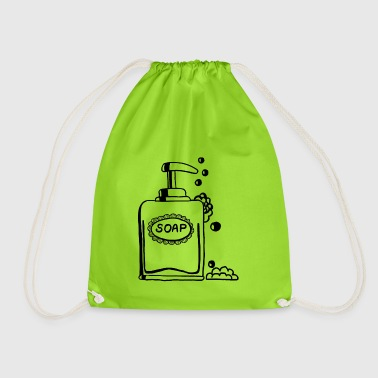 Soap, soap, soap dispenser - Drawstring Bag