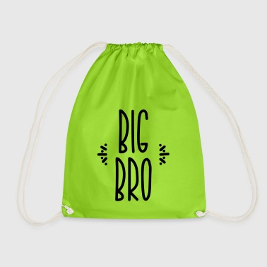 big bro - Drawstring Bag