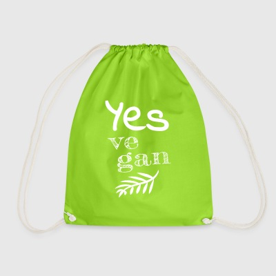 Yes Vegan - Drawstring Bag