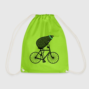 sporty avocado - Drawstring Bag