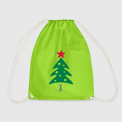 Christmas tree - Drawstring Bag