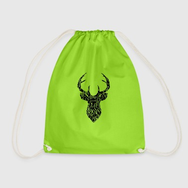 deer - Drawstring Bag