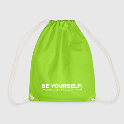 Be Yourself - Drawstring Bag