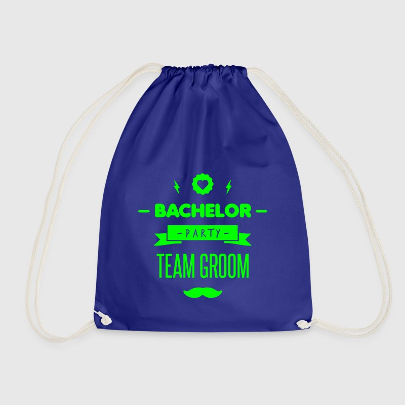 Team GROOM - Drawstring Bag