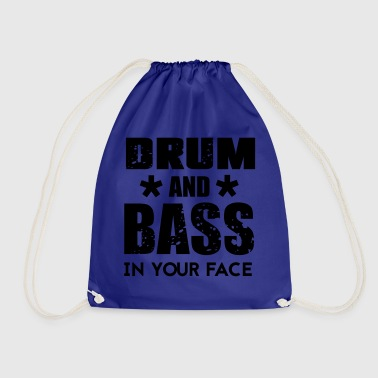 Drum n Bass Music - Drawstring Bag