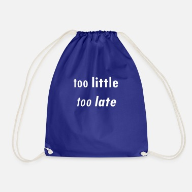 Quota quota - Drawstring Bag