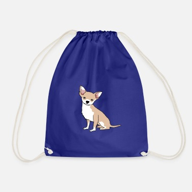 Purebred Dog Chihuahua dog, purebred dog - Drawstring Bag