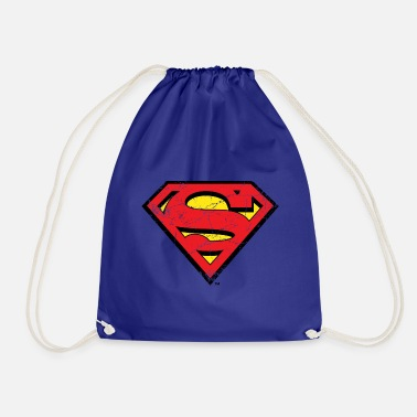 Supergirl DC Comics Superman Logo Used Look - Turnbeutel
