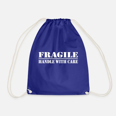 Spass fragile - handle with care - Turnbeutel