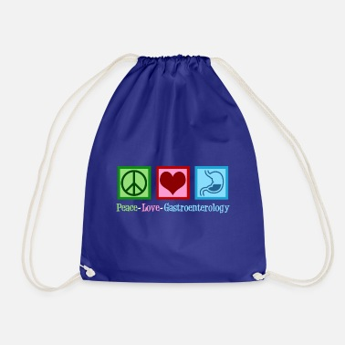 Love Peace Love Gastroenterology - Drawstring Bag
