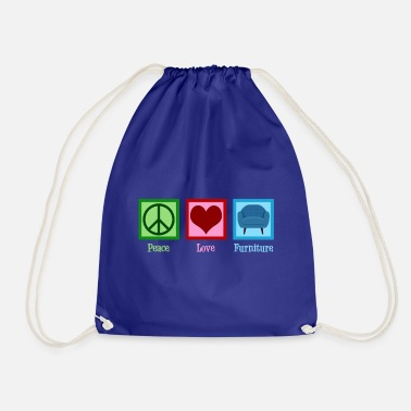 Furniture Peace Love Furniture - Drawstring Bag