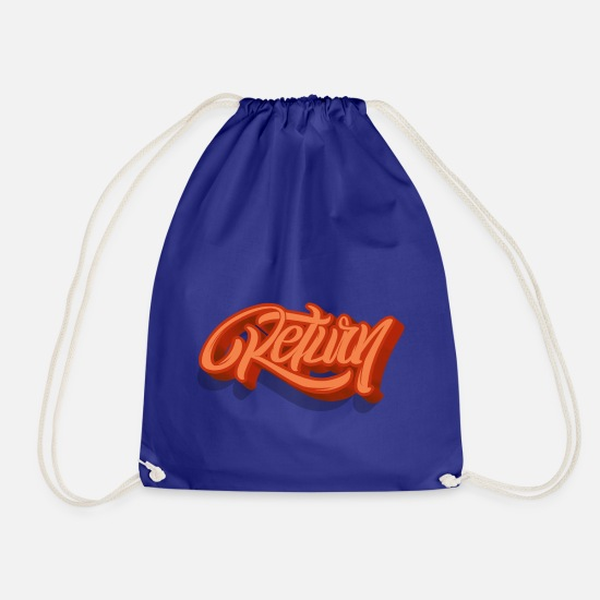 Returns Bags & Backpacks - return - Drawstring Bag royal blue