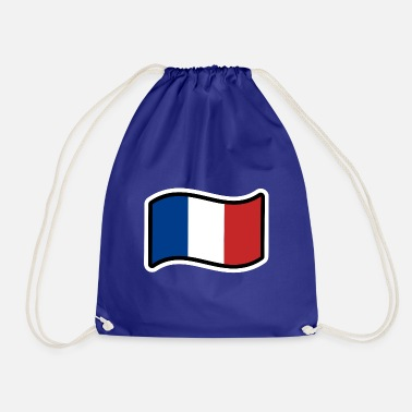 France Flag France flag - Drawstring Bag