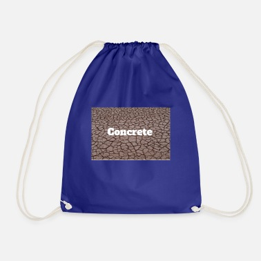Concrete Concrete - Drawstring Bag