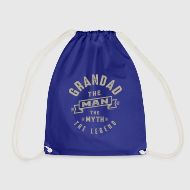 Grandad The Myth - Drawstring Bag
