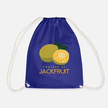 Name Funny Vegan Powered By Jackfruit Gift product - Drawstring Bag