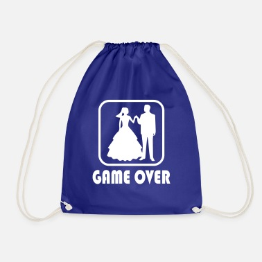 Over Game over soulmate - Drawstring Bag