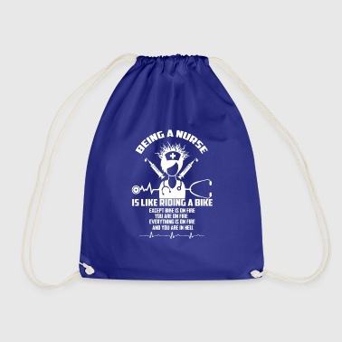 Nurse / nurse - Drawstring Bag