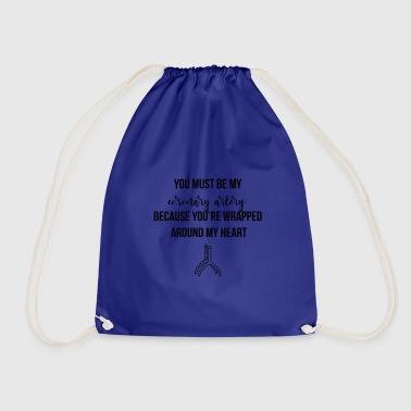 Coronary artery - Drawstring Bag