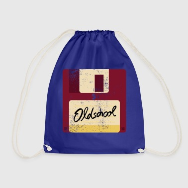 Old School Floppy Disk - Drawstring Bag