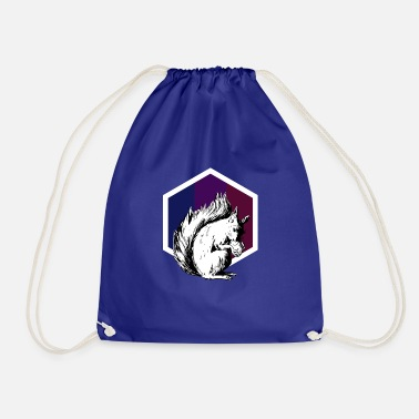Nimble squirrel - Drawstring Bag