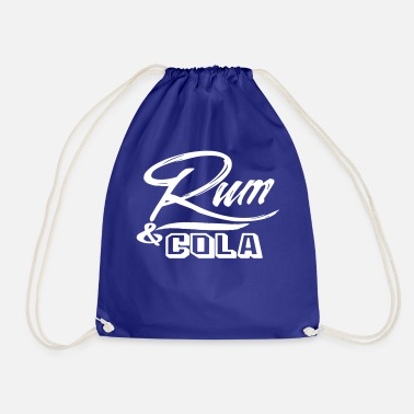 Cola rum cola - Drawstring Bag