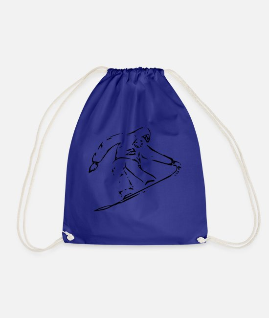 Freestyle Bags & Backpacks - Boarder - Drawstring Bag royal blue