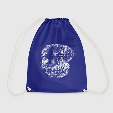 Pet Pet dog cute pet - Drawstring Bag