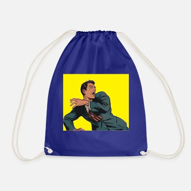 Comic comic - Drawstring Bag