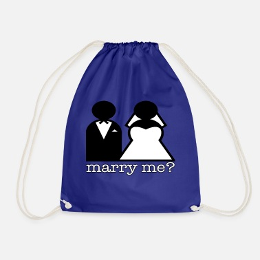 Marry Marry - Drawstring Bag