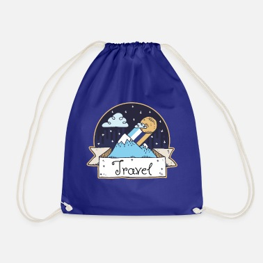 Travel Travel - Drawstring Bag