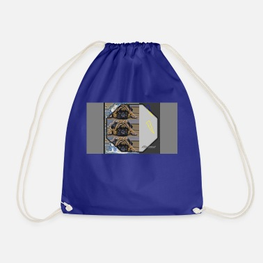French French bulldog - Drawstring Bag