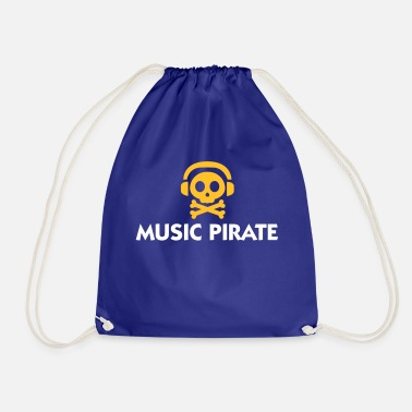 Torrent Music Pirate - Drawstring Bag