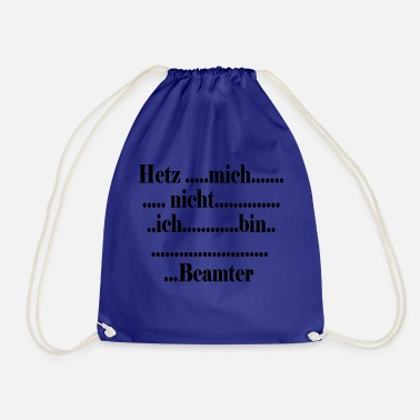 Official Person slow official - Drawstring Bag